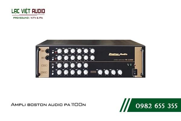 Giới thiệu về sản phẩm Amply Boston Audio PA 1100N
