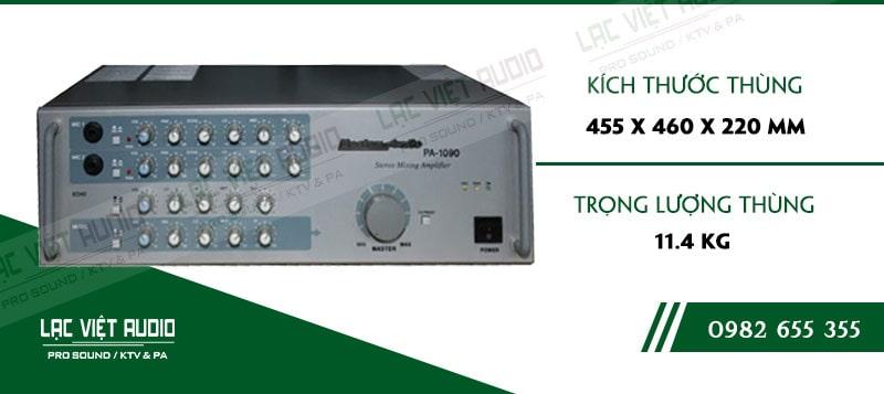 Thiết kế bên ngoài của sản phẩm Amply Boston Audio PA-1090