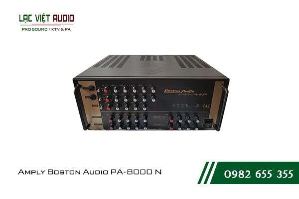 Giới thiệu về sản phẩm Ampli boston audio PA 8000N