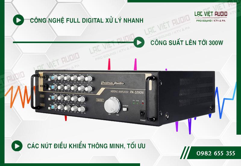 Chất lượng âm thanh của sản phẩm Amply Boston PA-1090N