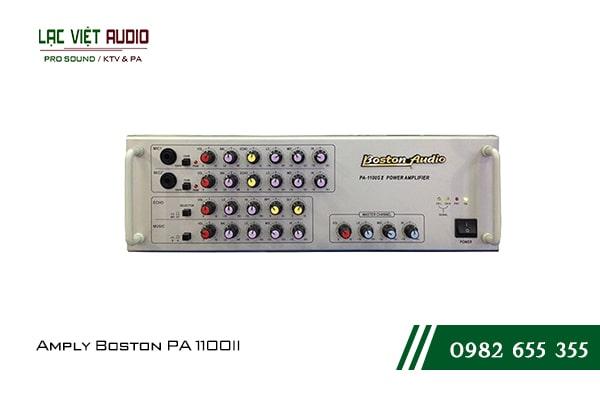 Giới thiệu về sản phẩm Amply Boston PA 1100II