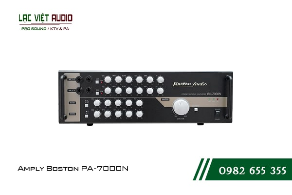 Giới thiệu về sản phẩm Amply Boston PA-7000N