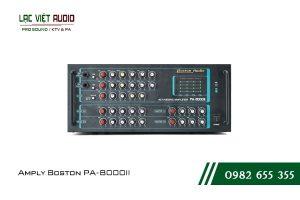 Giới thiệu về sản phẩm Amply Boston PA-8000II