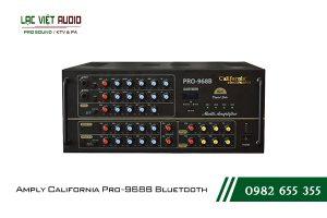 Giới thiệu về sản phẩm Amply California Pro-968B Bluetooth