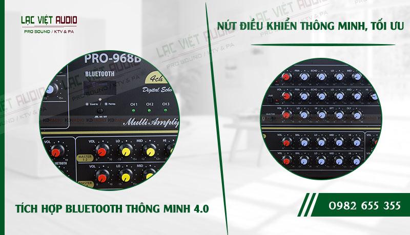 Tính năng của sản phẩm Amply California Pro-968B Bluetooth