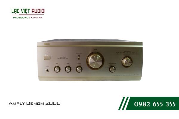 Giới thiệu Amply Denon 2000