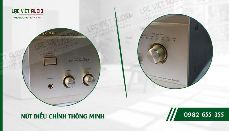Các đặc điểm độc đáo của sản phẩm Amply Denon 2000 này