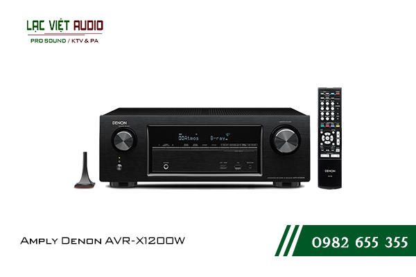 Giới thiệu Amply Denon AVR-X1200W