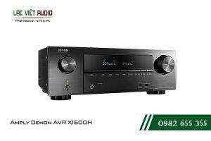 Giới thiệu về sản phẩmAmply Denon AVR X1500H