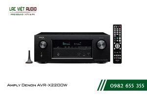 Giới thiệu về sản phẩmAmply Denon AVR X2200W