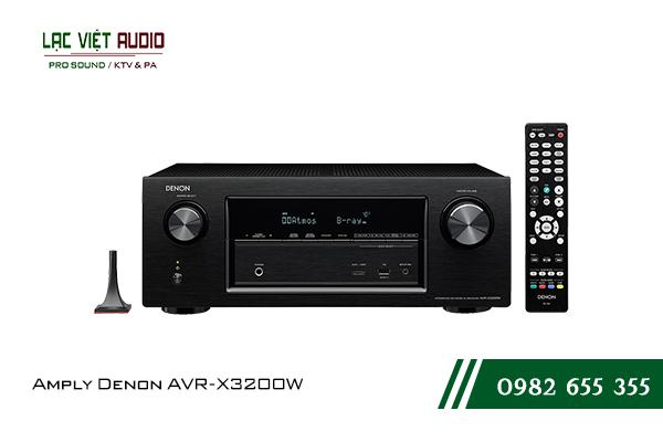 Giới thiệuAmply Denon AVR-X3200W