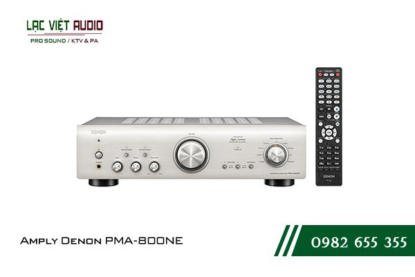 Một số giới thiệu tổng quan về sản phẩmAmply Denon PMA 800NE