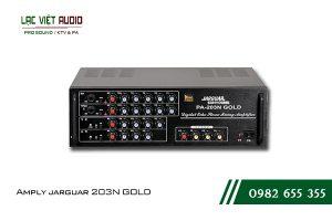 Giới thiệu sản phẩm Amply jarguar 203N GOLD