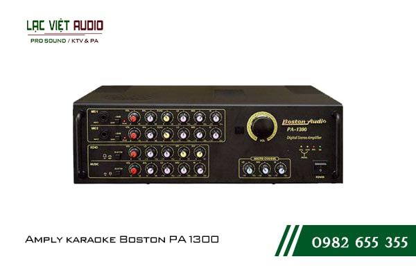 Giới thiệu về sản phẩm Amply karaoke Boston PA 1300
