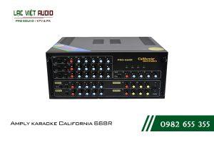 Giới thiệu về sản phẩm Amply karaoke California 668R