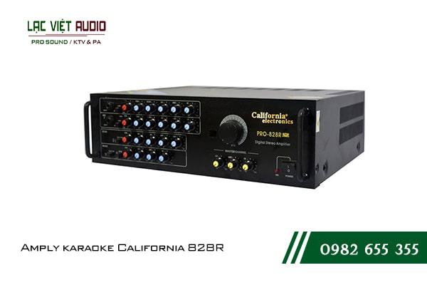 Giới thiệu về sản phẩm Amply karaoke California 828R