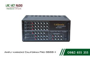 Giới thiệu về sản phẩm Amply karaoke California Pro-968B-II