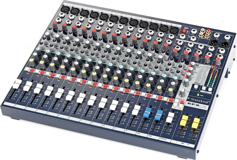 Thương hiệu bàn mixer Soundcraft