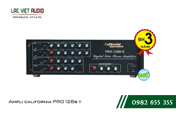 Giới thiệu về sản phẩm Ampli california PRO 128b II
