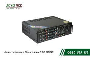 Giới thiệu về sản phẩm Amply karaoke California PRO 568E