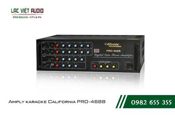 Giới thiệu về sản phẩm Amply karaoke California PRO-468B