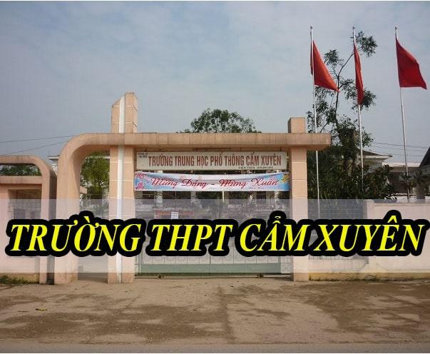 Âm thanh hội trường trường THPT Cẩm Xuyên