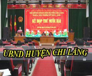 Âm thanh hội trường ubnd huyện Chi Lăng
