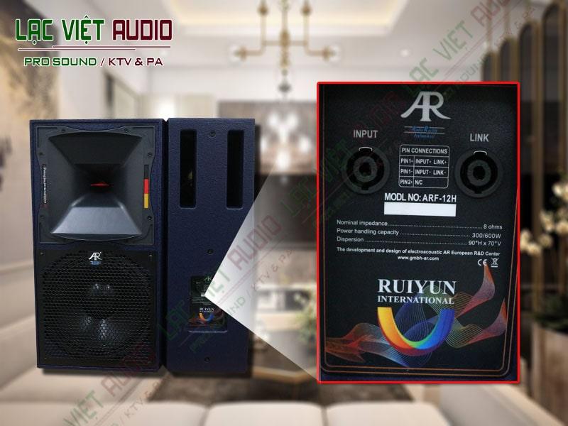 Thiết kế bên ngoài của sản phẩm Loa karaoke AR ARF 12H