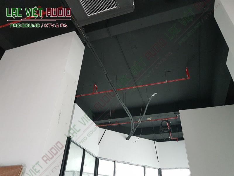 Không gian lắp đặt của dự án