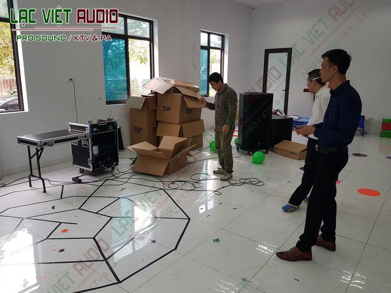 Khảo sát không gian lắp đặt dự án