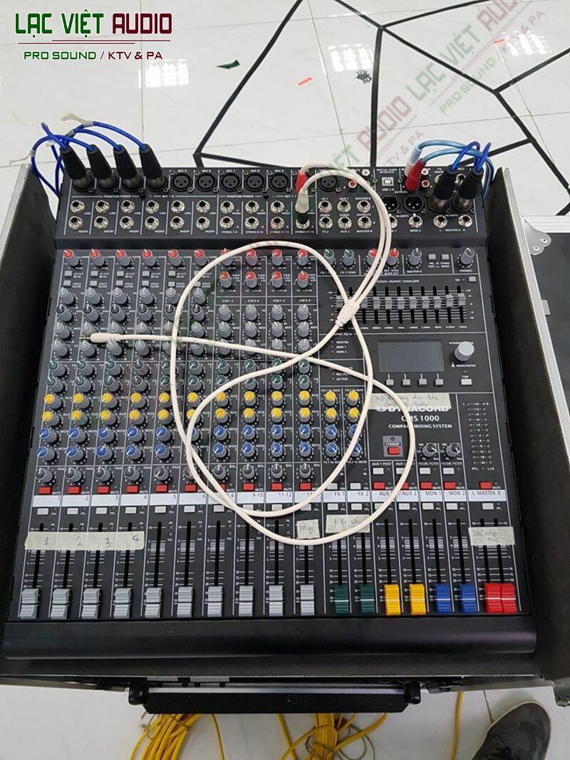 Thiết bị mixer cực chuyên nghiệp, hiện đại