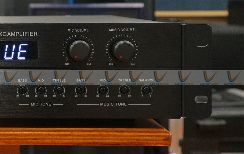 Hệ thống điều chỉnh Bass treble của KING SA900