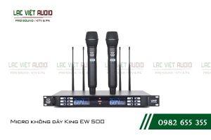 Micro không dây King EW 500