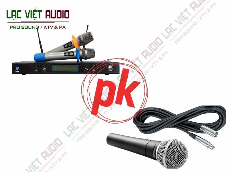 Khi mua Micro Karaoke nên chọn mua loại có dây hay không dây?