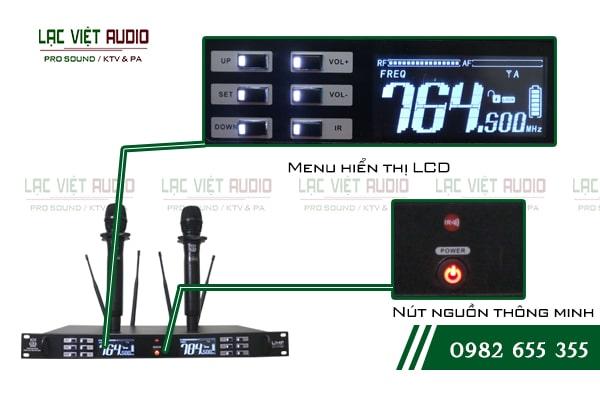 Những tính năng độc đáo về chất lượng âm thanh và thiết kế của sản phẩm Micro không dây King EW 500