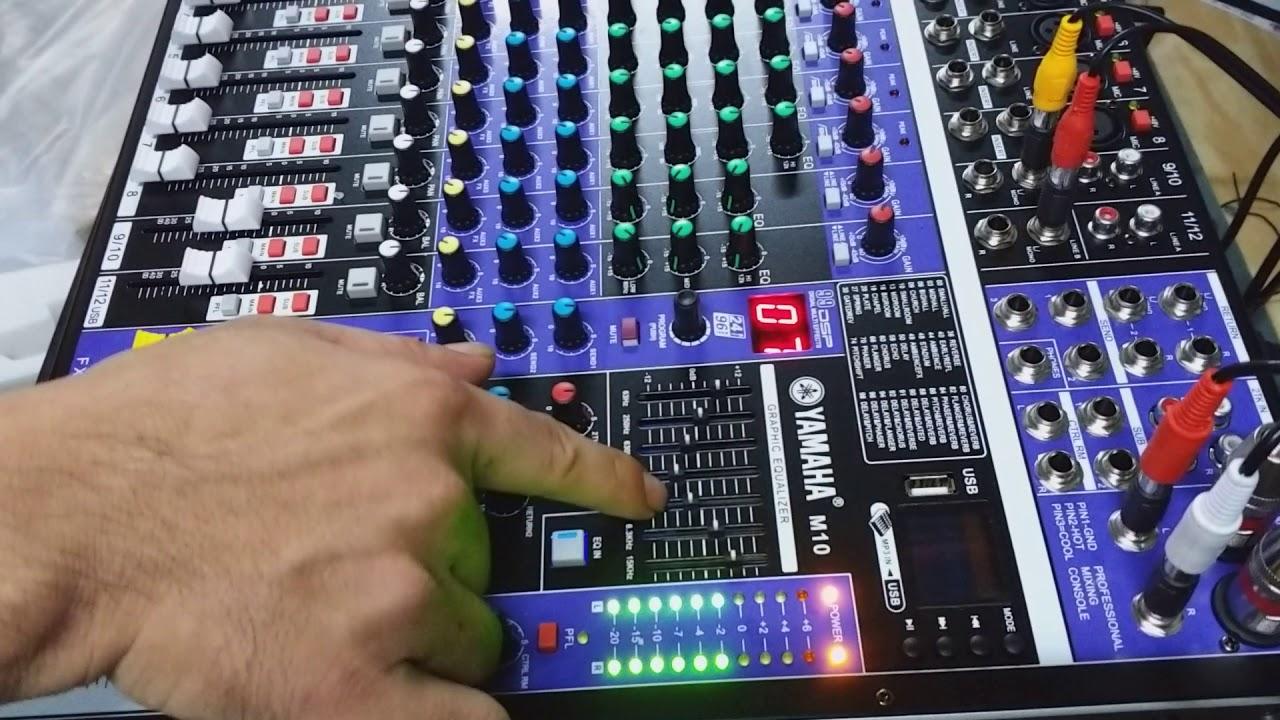 Mixer Yamaha thương hiệu bàn trộn hàng đầu hiện nay