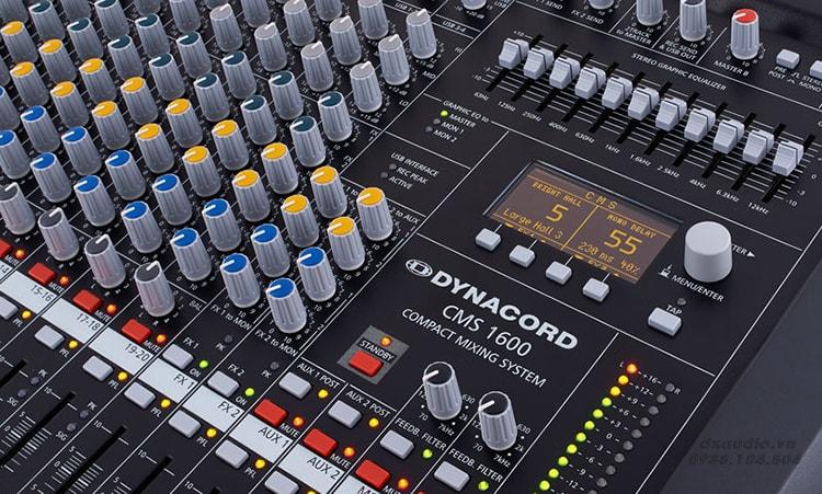 Mixer Dynacord- thương hiệu bàn mixer đến từ Đức