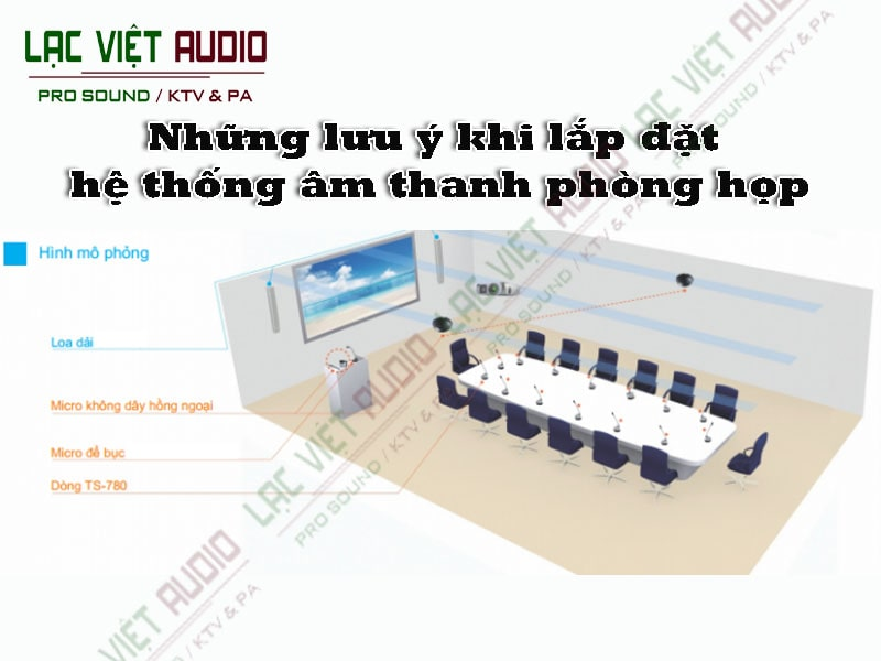 Lắp đặt âm thanh phòng họp cần lưu ý những điều gì?