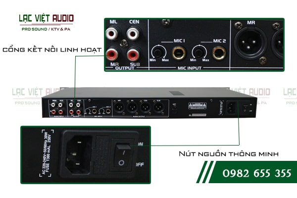 Chất lượng âm thanh chuyên nghiệp