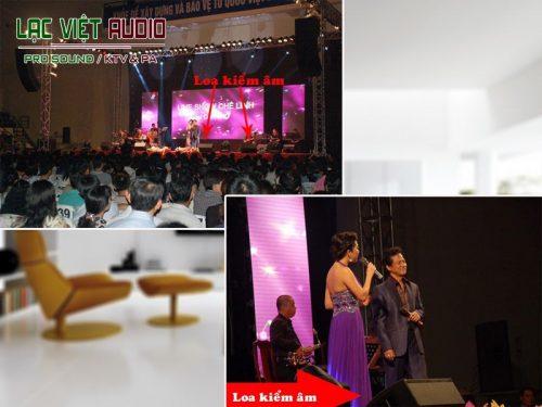 Loa monitor sân khấu là gì?