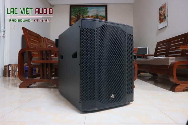 Tổng quan về thiết bị Loa sub DB SW 200 bass 40