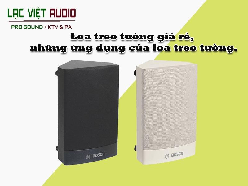 Ứng dụng của loa treo tường trên thị trường thiết bị âm thanh hiện nay.