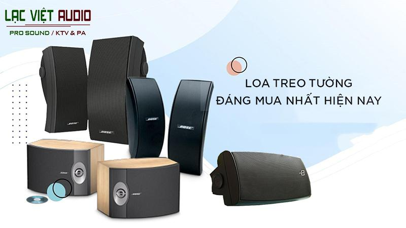Các sản phẩm loa treo tưởng tại Lạc Việt Audio