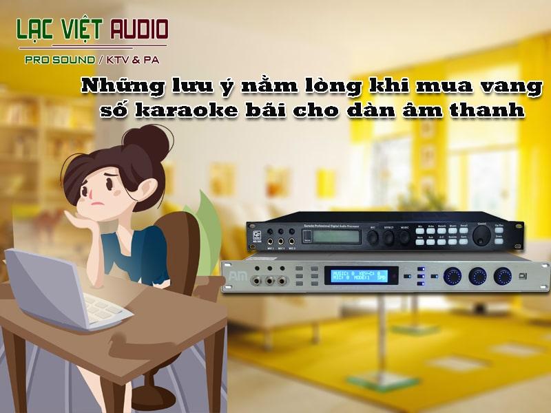 Tìm hiểu, xác định rõ nhu cầu âm thanh của mình và gia đình, từ đó có thể đưa ra được những lựa chọn sản phẩm vang số karaoke bãi phù hợp.