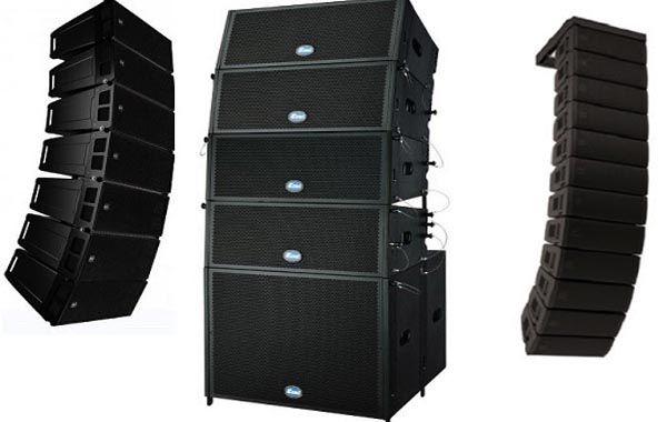 Loa array là gì - Ngyên lý hoạt động và ứng dụng của các dàn loa array