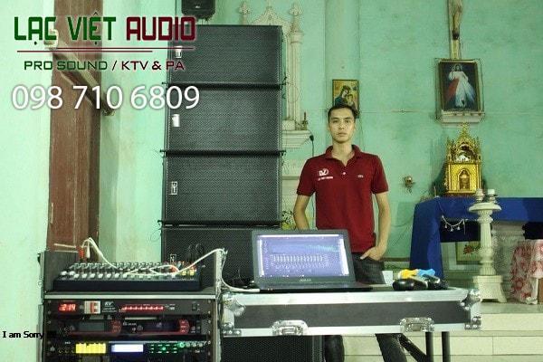 Cung cấp âm thanh cho sân trường trường học trên địa bàn Hà Nội