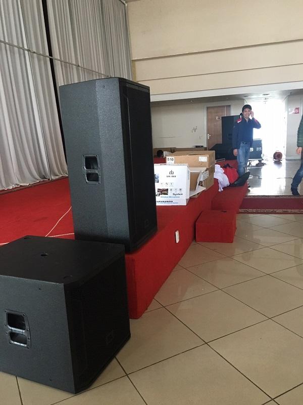 Cung cấp dàn âm thanh hội trường cho bệnh viện đa khoa tư nhân Hùng Vương - Phú Thọ