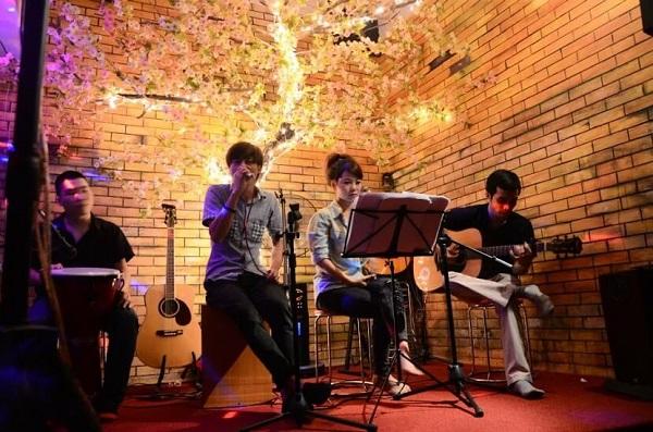 Các nhạc cụ chơi nhạc acoustic