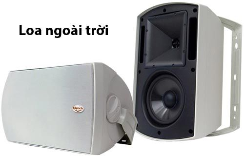 Các sản phẩm loa ngoài trời cho chất lượng âm thanh tuyệt hảo