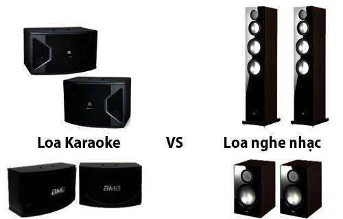 Cách phân biệt loa nghe nhạc và loa karaoke
